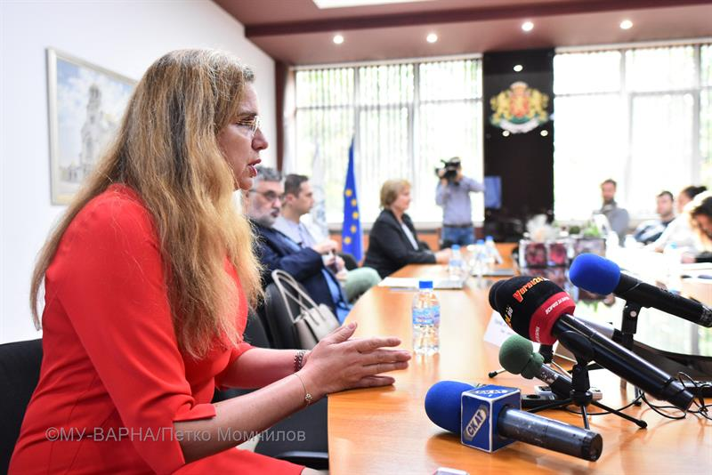 On 23.10.2019 a press conference was held on the launch of the project TranStem